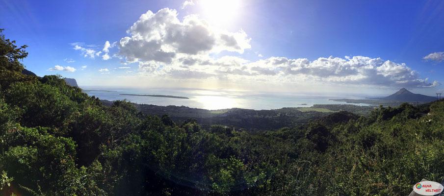Aussichtspunkt auf dem Weg von Chamarel zur Westküste