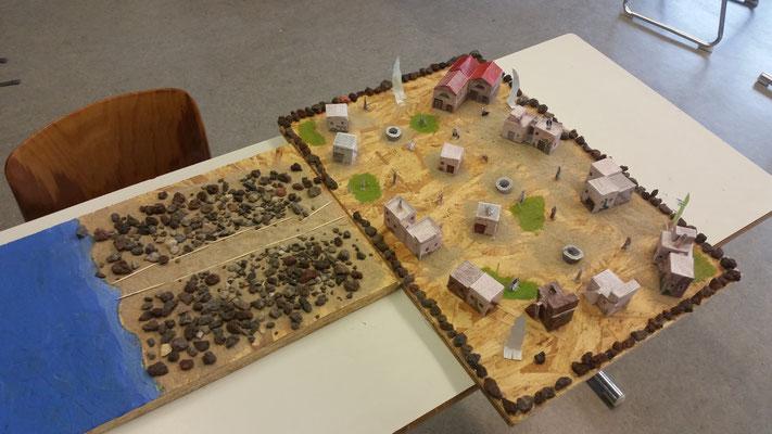 Projekt - Ein Dorf zur Zeit Jesu (Klasse 6e / 2017-18)