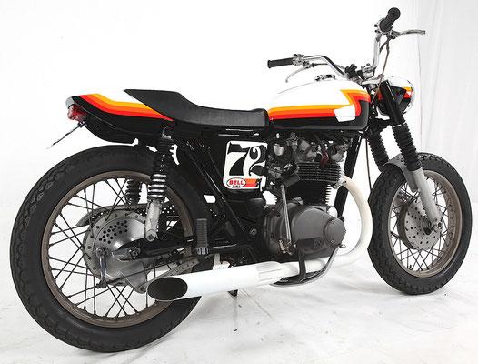 Honda CB450 Steve McQueen Flat Tracker