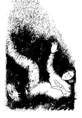 GedankenRäume - ohne Boden, 100 x 70 cm, 2020