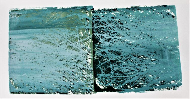 verwurzelt 3.4, 14 x 26 cm, 2017