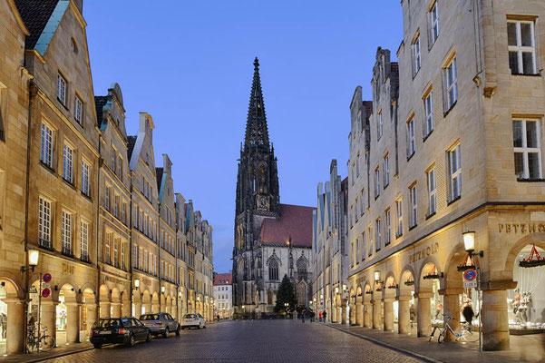 Prinzipalmarkt und St. Lamberti Kirche, Münster / ch134743