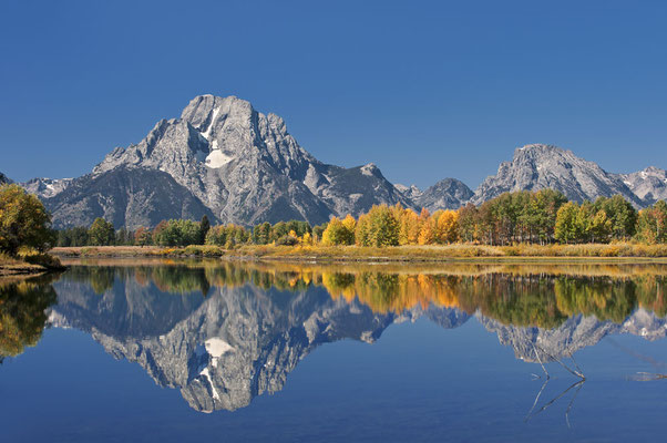 Mount Moran, Oxbow Bend / ch061673