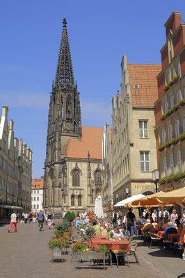 Prinzipalmarkt und St. Lamberti Kirche, Münster / ch055872