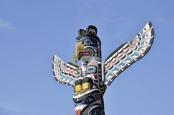 Totempfahl, Stanley Park, Vancouver / ch156689