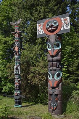 Totempfahl, Stanley Park, Vancouver / ch156643