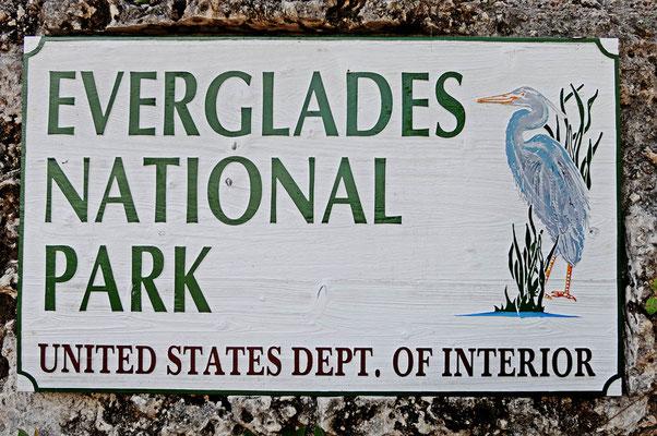 Schild Everglades Nationalpark / ch023361