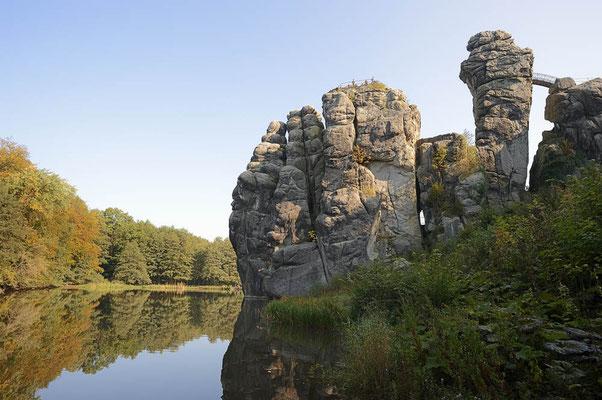 Externsteine, Teutoburger Wald, Nordrhein-Westfalen / ch121814