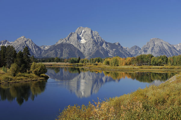 Mount Moran, Oxbow Bend / ch061632