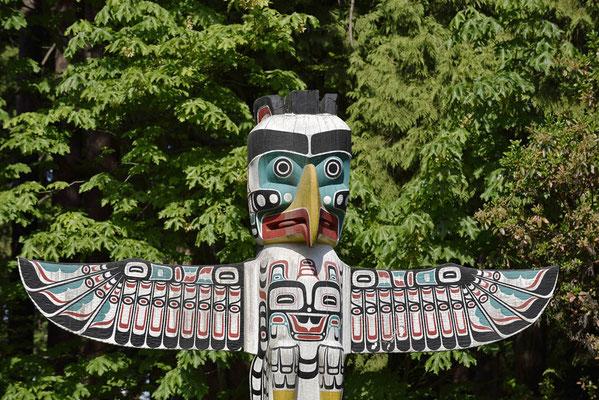 Totempfahl, Stanley Park, Vancouver / ch156734