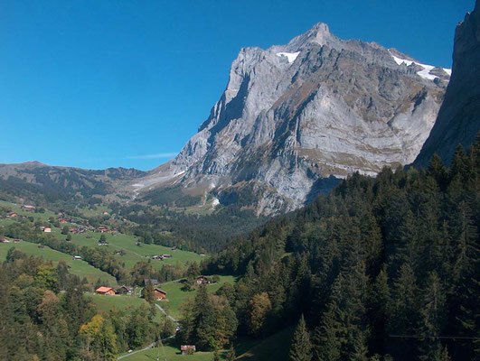 Weitwandern ohne Gepäck Bärentrek-Hintere Gasse Berner Oberland: Grindelwald