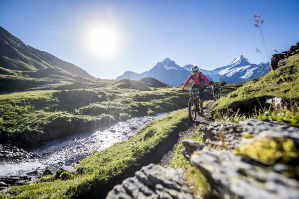 E-Mountainbike Tour Jungfrau Loop