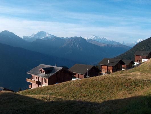 Weitwandern ohne Gepäck vom Berner Oberland ins Wallis: Riederalp