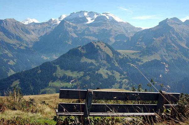 Weitwandern ohne Gepäck auf der Via Alpina Bärentrek-Hintere Gasse Berner Oberland: Lenk