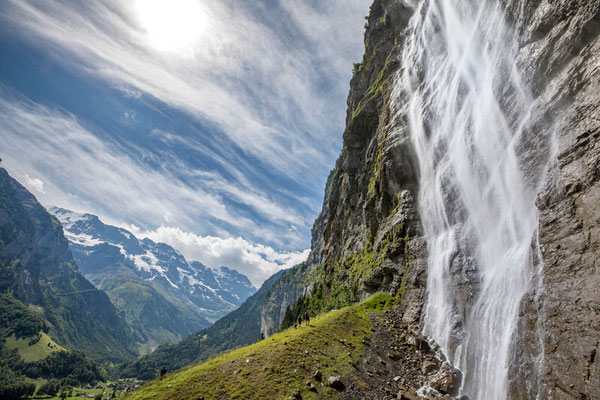 Wanderreise mit Gepäcktransport im Berner Oberland: Lauterbrunnental