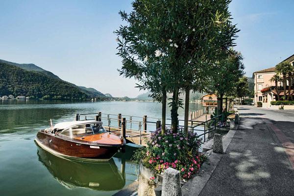 Weitwandern ohne Gepäck im Tessin auf dem Sentiero Lago di Lugano