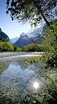 Weitwandern ohne Gepäck vom Berner Oberland ins Wallis: Gasterntal