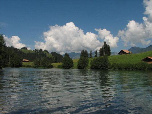 E-Bike Tour mit Gepäcktransport im Berner Oberland: Aegelsee Diemtigbergli