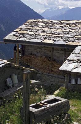 Weitwandern ohne Gepäck vom Berner Oberland ins Wallis: Faldumalp