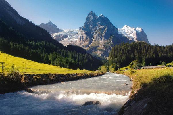 E-Bike Tour mit Gepäcktransport im Weltnaturerbe: Grosse Scheidegg