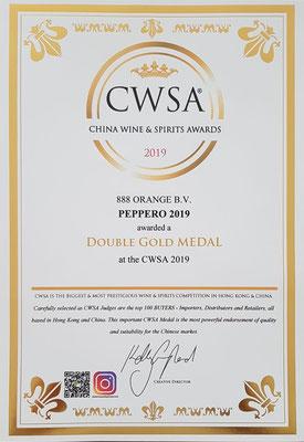 AWARD CWSA 2019