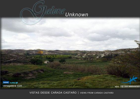 Vistas desde Cañada Castaño (2011 Galera, Granada)