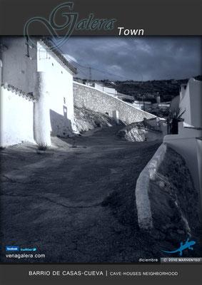 Barrio de casas-cueva  (2011, Galera, Granada)