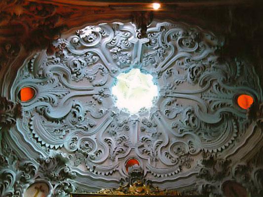 Capilla de estilo barroco de la nave transversal