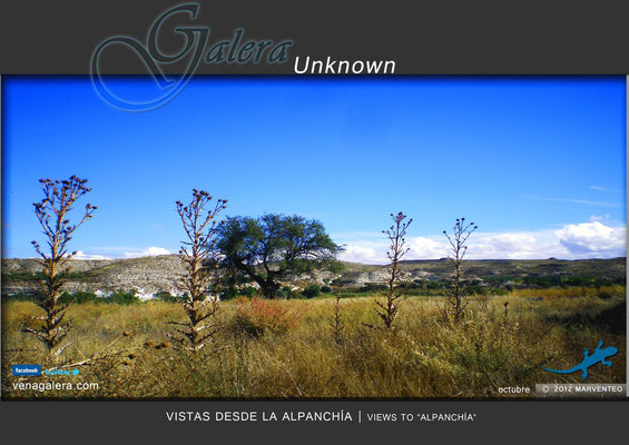 Vistas desde la Alpanchía (2011, Galera, Granada)