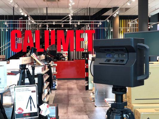 3D Scan @ CALUMET Frankfurt
