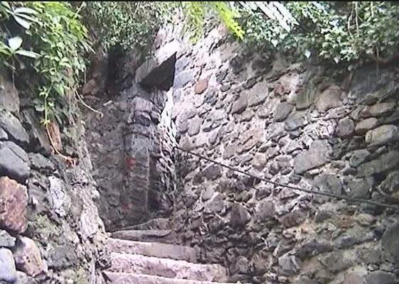 Aufgangseingang
