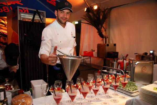 Beste Speisen produziert aus den Produkten der GenussRegion bei der Wein- und Genuss-Gala 2018