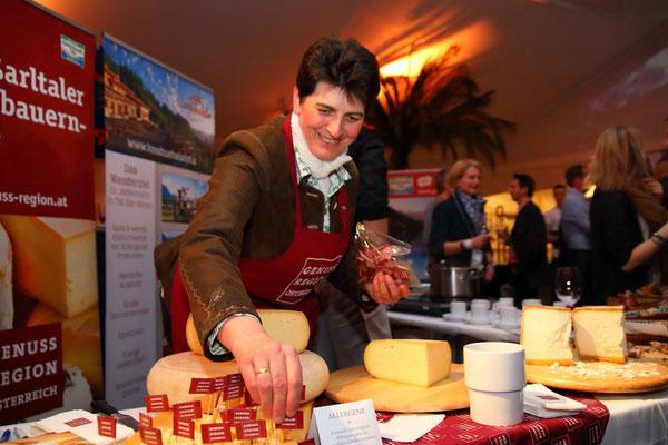 Vorbereitungen für die Wein- und Genuss-Gala in Großarl 2018