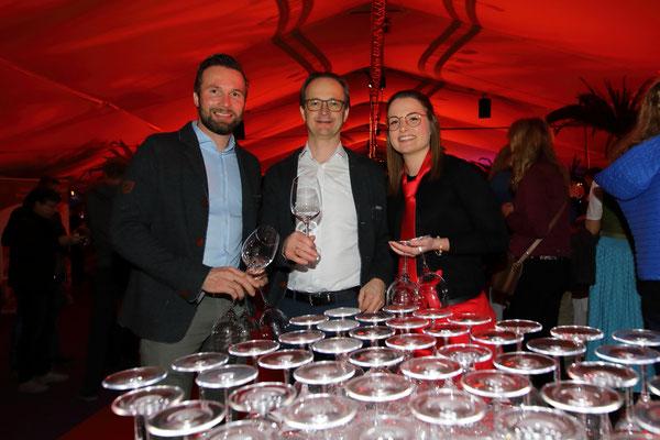 Wirte bei der Wein- und Genuss-Gala 2019 in Großarl