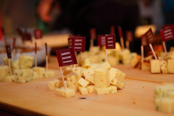Käse aus der GenussRegion Großarltaler Bergbauernkäse 2018