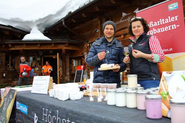 Höchster Bauernmarkt der Alpen auf der Gehwolfalm 2018