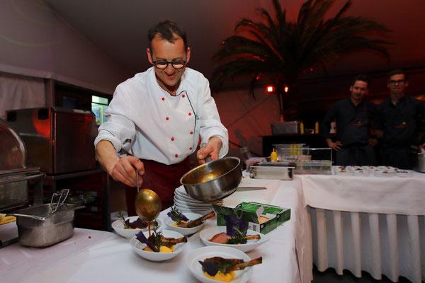 Koch bei der Wein- und Genuss-Gala 2019 in Großarl