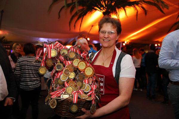 Auszeichnungen der Produkte der GenussRegion Großarltaler Bergbauernkäse 2018