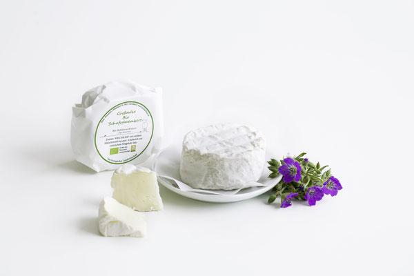 Camembert aus Schafkäse von der Bio-Hofkäserei Mitterhub in Großarl