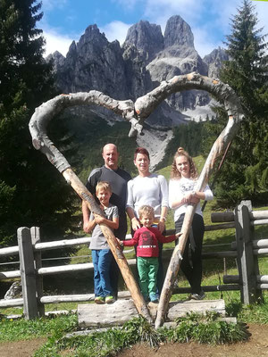 Familie Kreer vom Rohrmoosbauern in Großarl