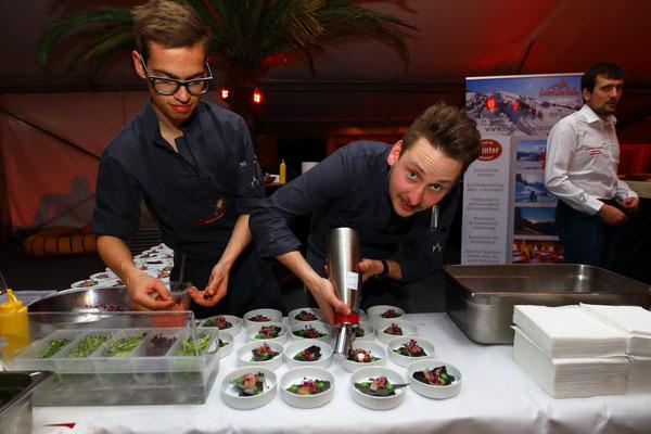 Köche bei der Wein- und Genuss-Gala in Großarl 2019