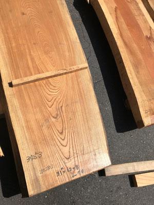 欅耳突板 無塗装 1枚ずつ材の形やサイズを見て慎重に選びます