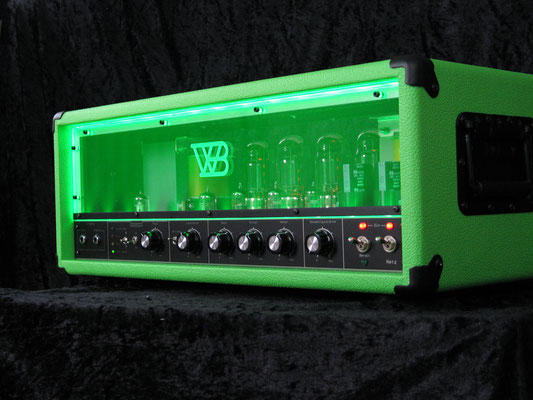 Spectro G200 Booster, Tolex-Colour = Appelgreen