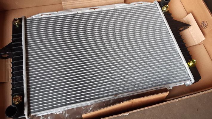 Nieuwe radiateur