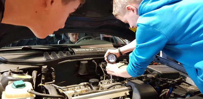autotechniek les BTC Volvo