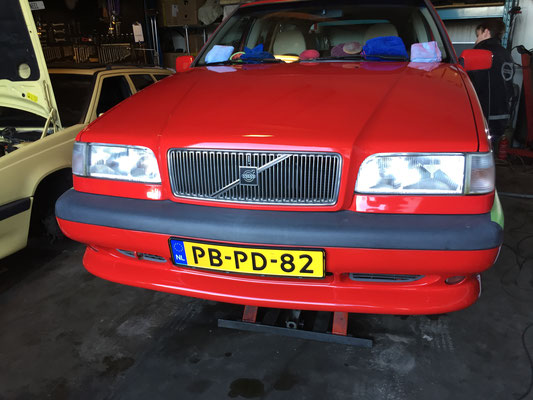Rode volvo 850 R