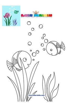 Des poissons tous ronds