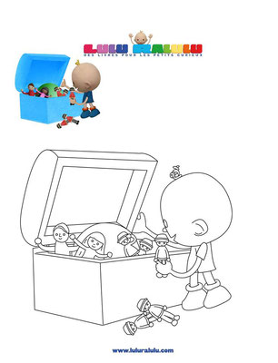 Lulu range ses jouets