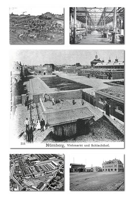 Schlachthof, große Aufnahme ca 1888