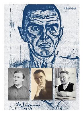 Schriftsteller Alfred Graf